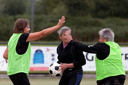 Cursussen OldStars walking korfball