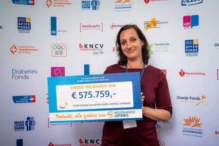 Afdracht NLO aan KNKV: 575.759 euro