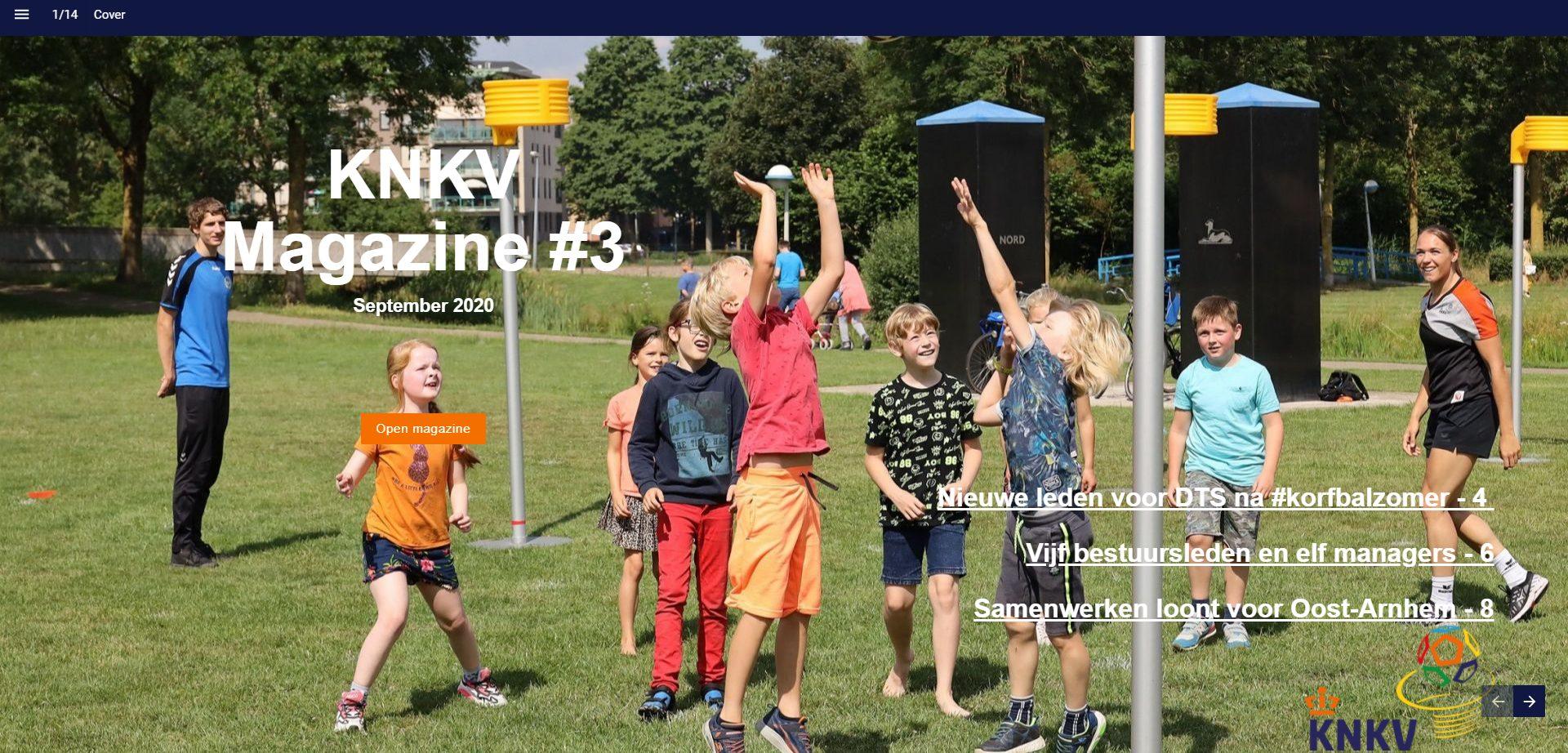 Derde online KNKV Magazine