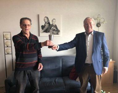 Wilson-erebeker voor Henk Lagerwaard, Ria Poelstra en Michel van Gent