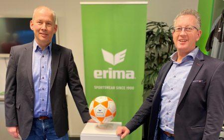 KNKV en ERIMA verlengen opnieuw met vier jaar