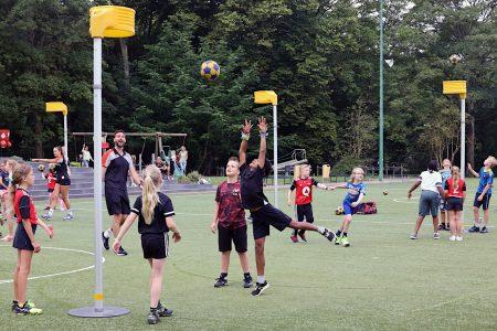 Terugblik online kennissessies korfbal op school