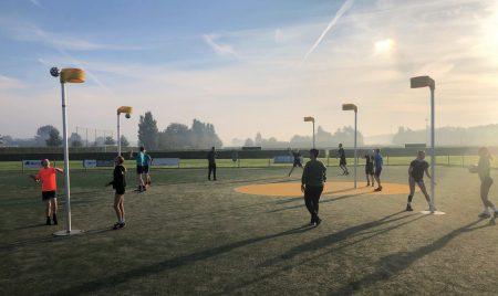 Topsport Talent School Groningen combineert school en korfbal
